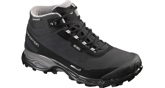 Salomon M's Shelter Spikes CS WP Shoes Black/Black/Pewter